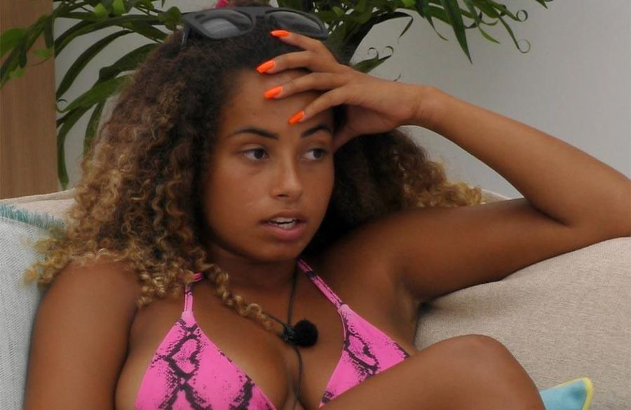 Love Island's Amber Gill rows with Maura Higgins