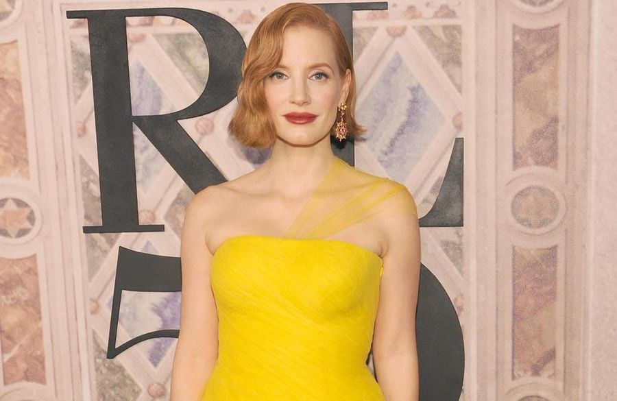 Jessica Chastain breaks fake blood 'world record'