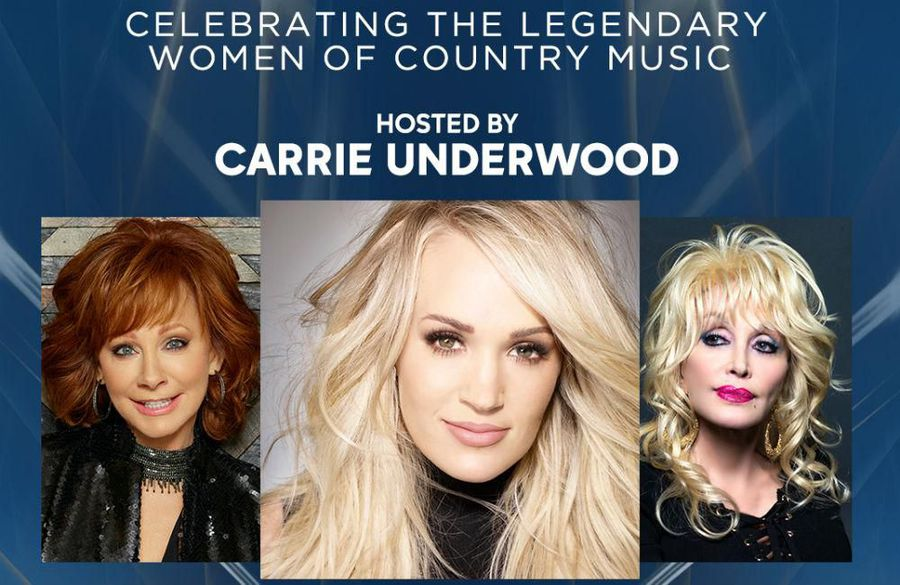 Carrie Underwood, Reba McEntire and Dolly Parton to host CMA Awards
