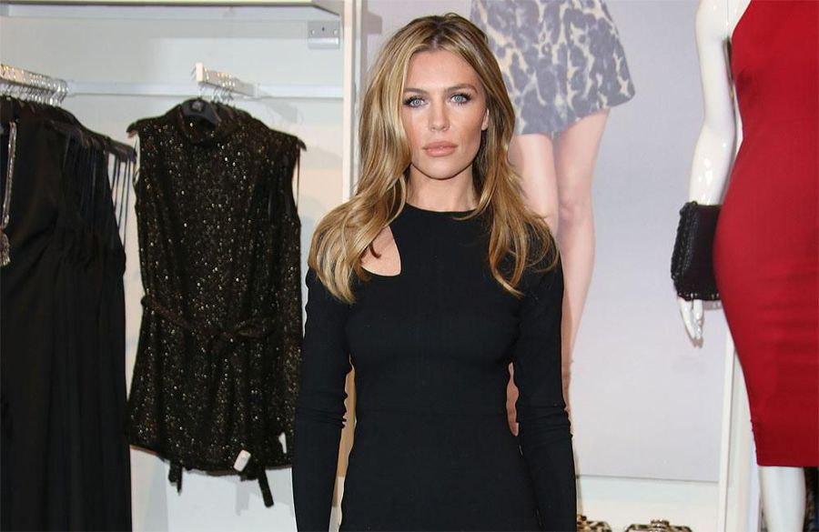 Abbey Clancy 'relaxed' about getting into shape