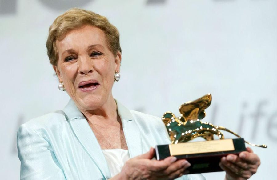 Julie Andrews honored at Venice Film Festival