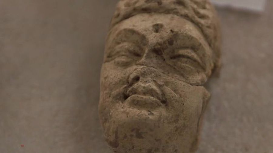 Once destroyed by the Taliban, Buddhas come back to life