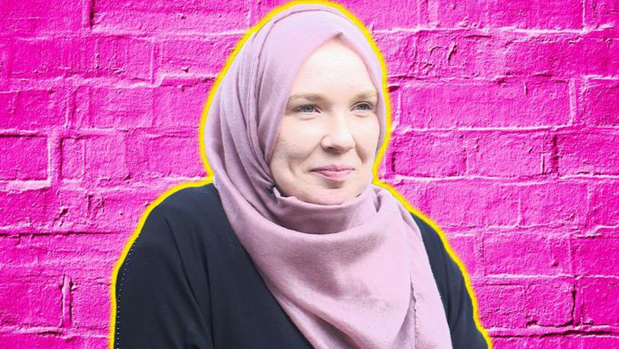 'It's worrying wearing a headscarf'