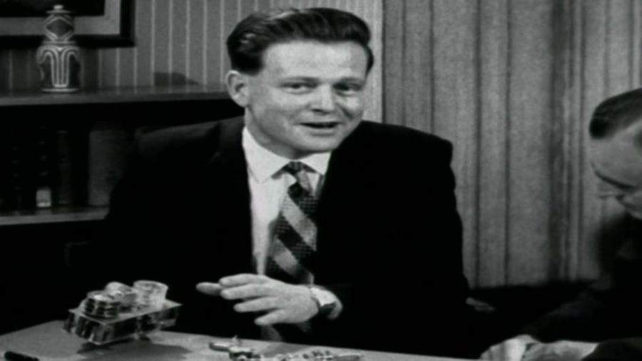 David Warren explains his invention to the BBC in 1958