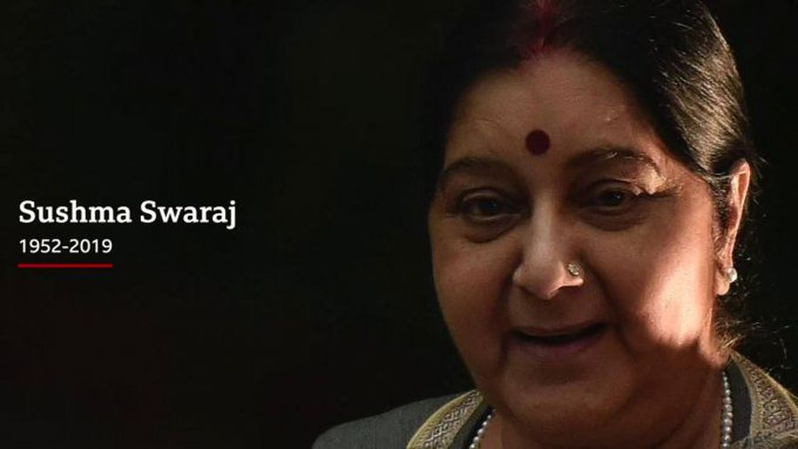India mourns beloved former foreign minister