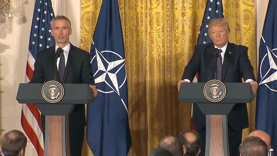 President Trump Reaffirms Commitment to NATO