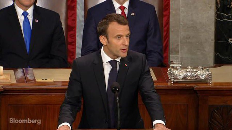 Macron Says He's Sure U.S. Will Return to the Paris Climate Accord