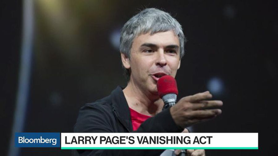 Where is Larry Page?