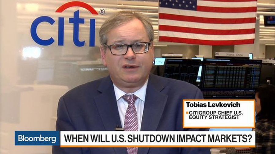 Citi's Levkovich Sees '10% Upside' for Equities