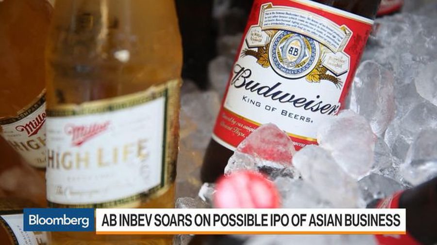 AB InBev Soars on Possible IPO of Asian Business