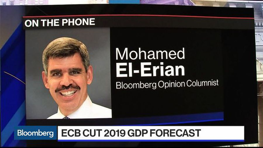 Watch El-Erian Sees High Risk That Europe Grows at Stall