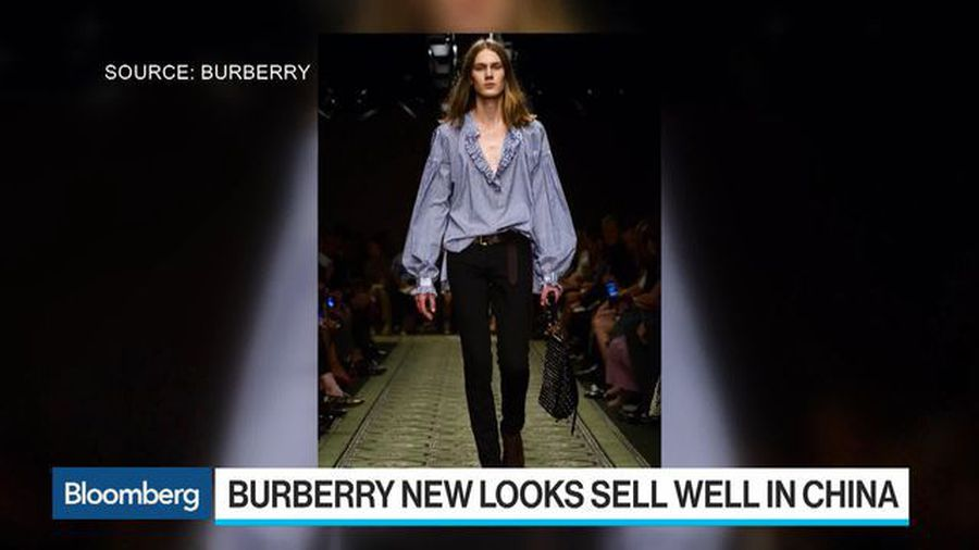 Burberry Gets a China Boost From Latest Tisci Designs