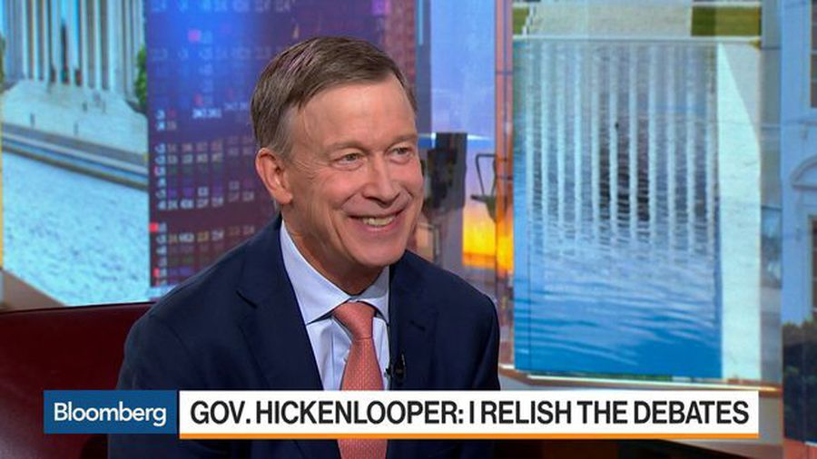 Democratic Candidate Hickenlooper on Jobs, Health Care, 2020