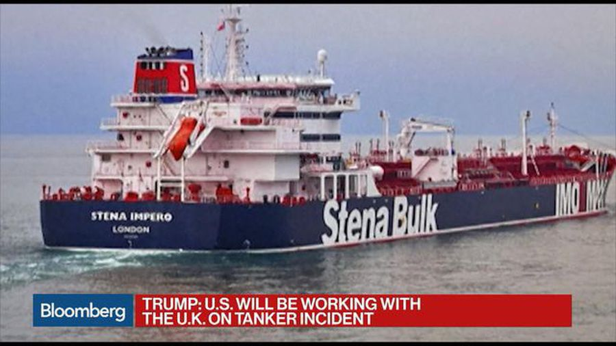 Iran's Seizure of British Oil Tanker an 'Extraordinarily Brazen' Step, Says Eurasia Group's Rome