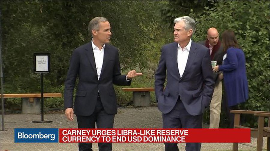 Carney Proposes Libra-Like Reserve Currency to End Dominance of Dollar