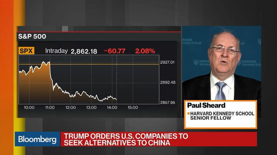 China Tariffs Won't Have Huge Effect on U.S. Economy, Says Sheard