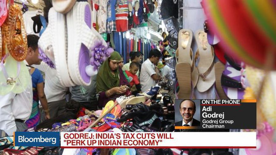 India's Godrej Group Says Tax Cuts 'a Very Good Move'