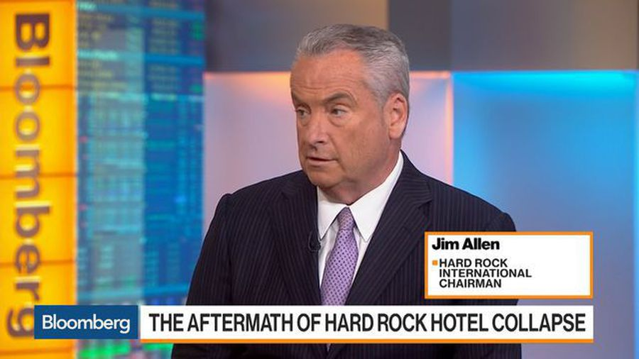 Hard Rock Chairman on New Orleans Hotel Collapse, Expansion Strategy
