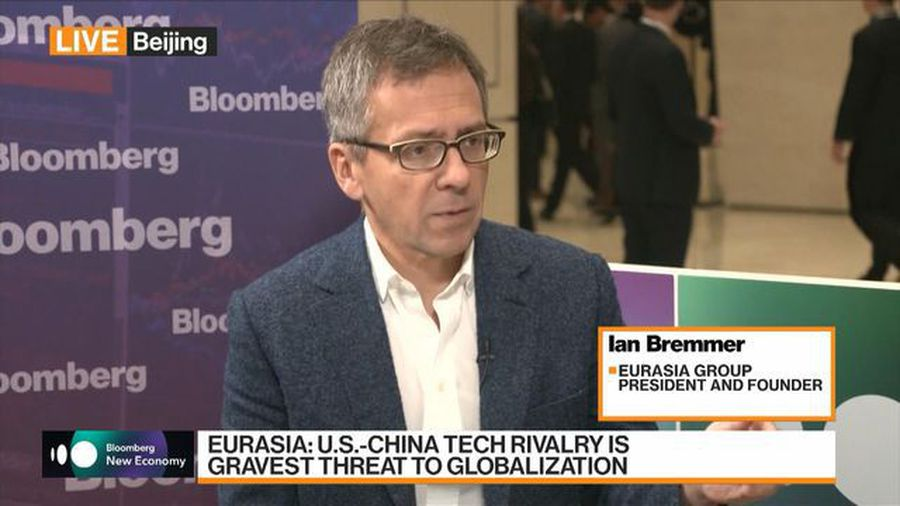 Bremmer Sees a Cold War in Technology