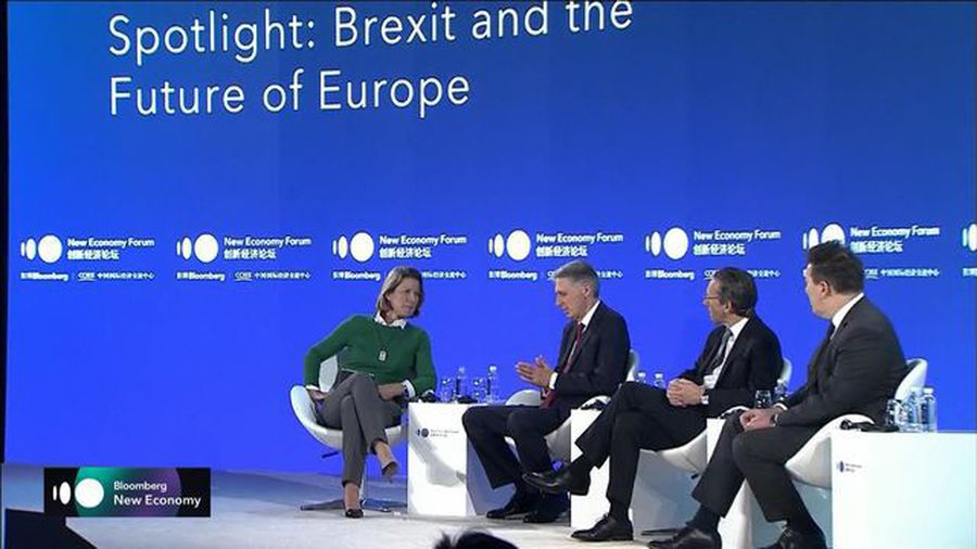 Hammond, Kukies, HSBC's King on Brexit and the Future of Europe
