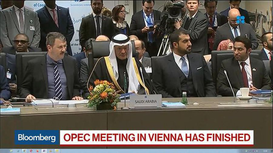 Saudi Oil Minister Says OPEC Will Disclose Decision Friday