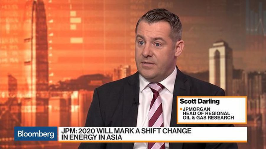 2020 Will Mark a Shift Change in Energy in Asia, Says JPMorgan's Darling