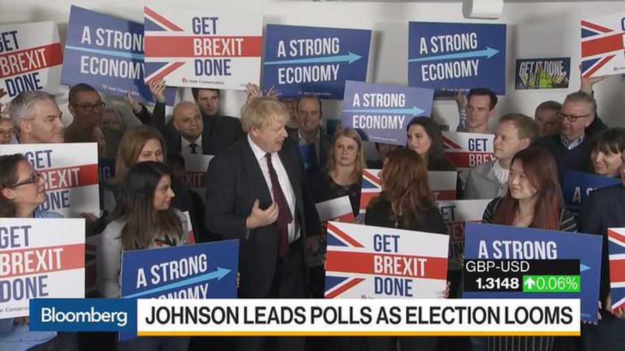 Johnson Leads Polls as Election Looms
