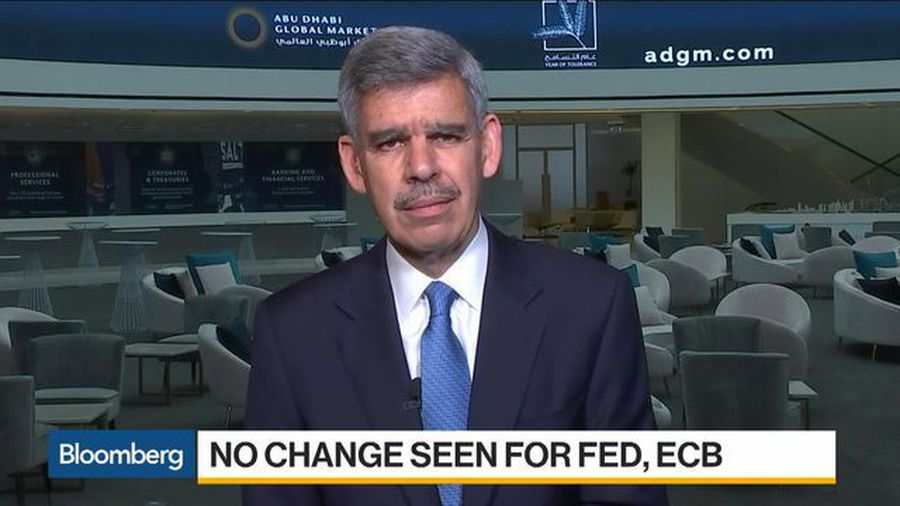 El-Erian Says He Doesn't Think Fed Will Raise Rates in 2020