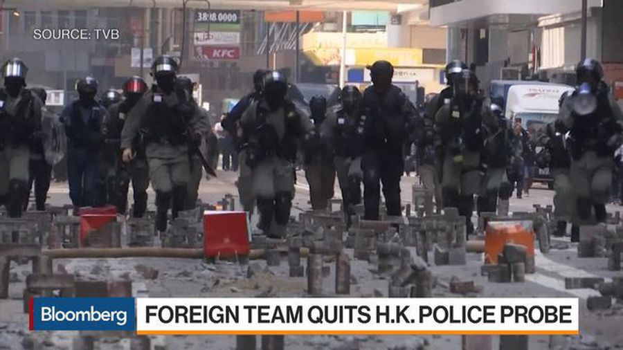 Foreign Experts Panel Exit Hong Kong Police Probe