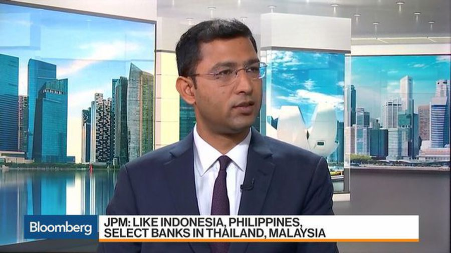 JPMorgan's Modi on India, Singapore Banks