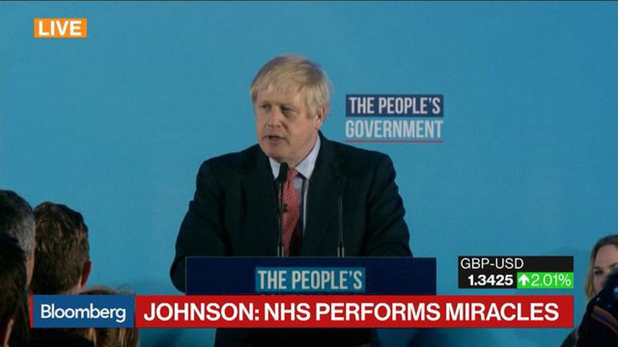 Johnson Calls NHS the Conservative Government's 'Top Priority'