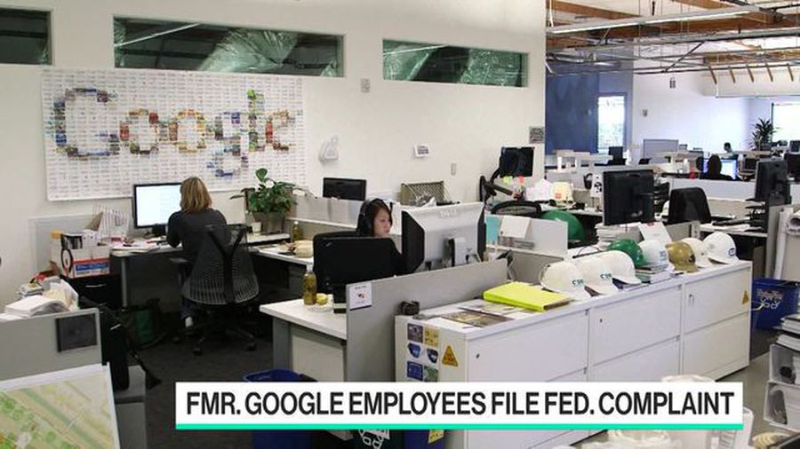Google Workers Rising Up After Employees Are Fired