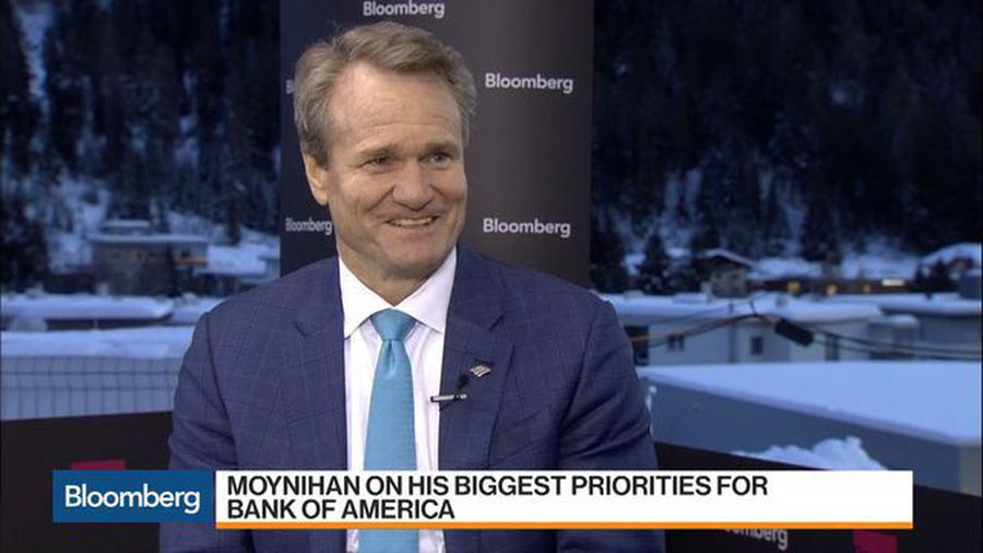 BofA's Moynihan on Sustainable Finance, Retail Banking, Leveraged Loans