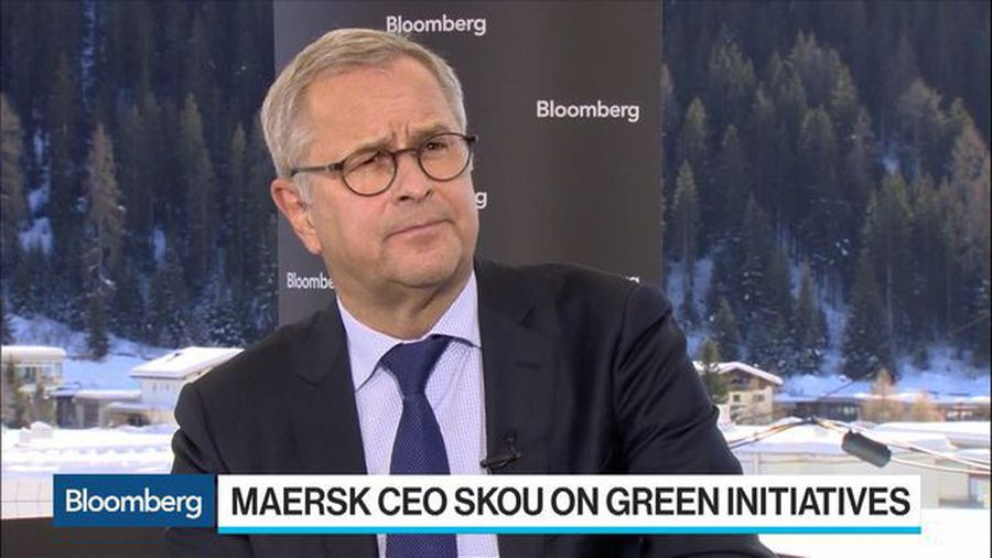 Maersk CEO Skou Doesn't Expect Trade Growth to Pick Up in 2020