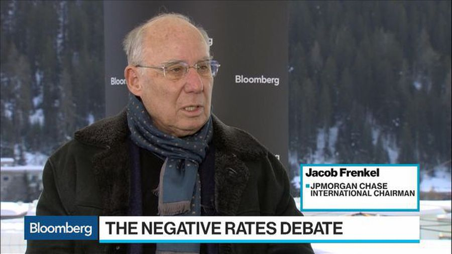 JPM's Frenkel Says Zero Interest Rate Has Exhausted Its Benefits