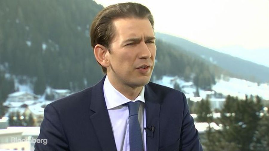 Austria's Kurz Suggests Green Coalition as Blueprint for Germany