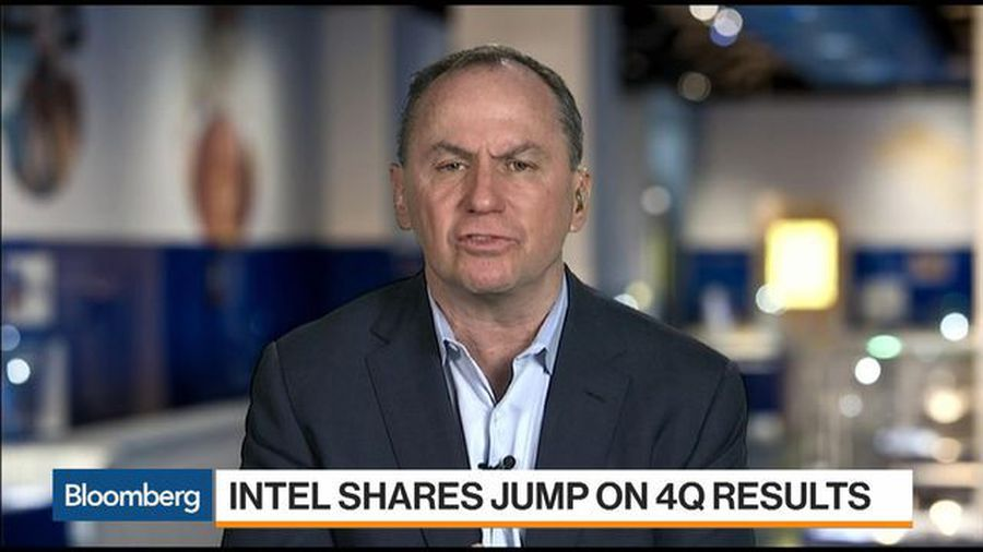 Intel CEO Swan Sees Another Record Year in 2020