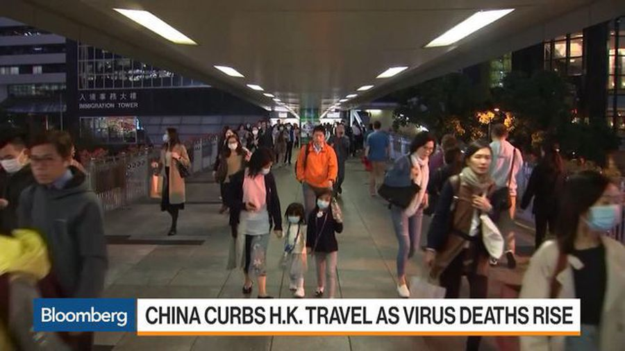 China Curbs Hong Kong Travel as Virus Deaths Rise