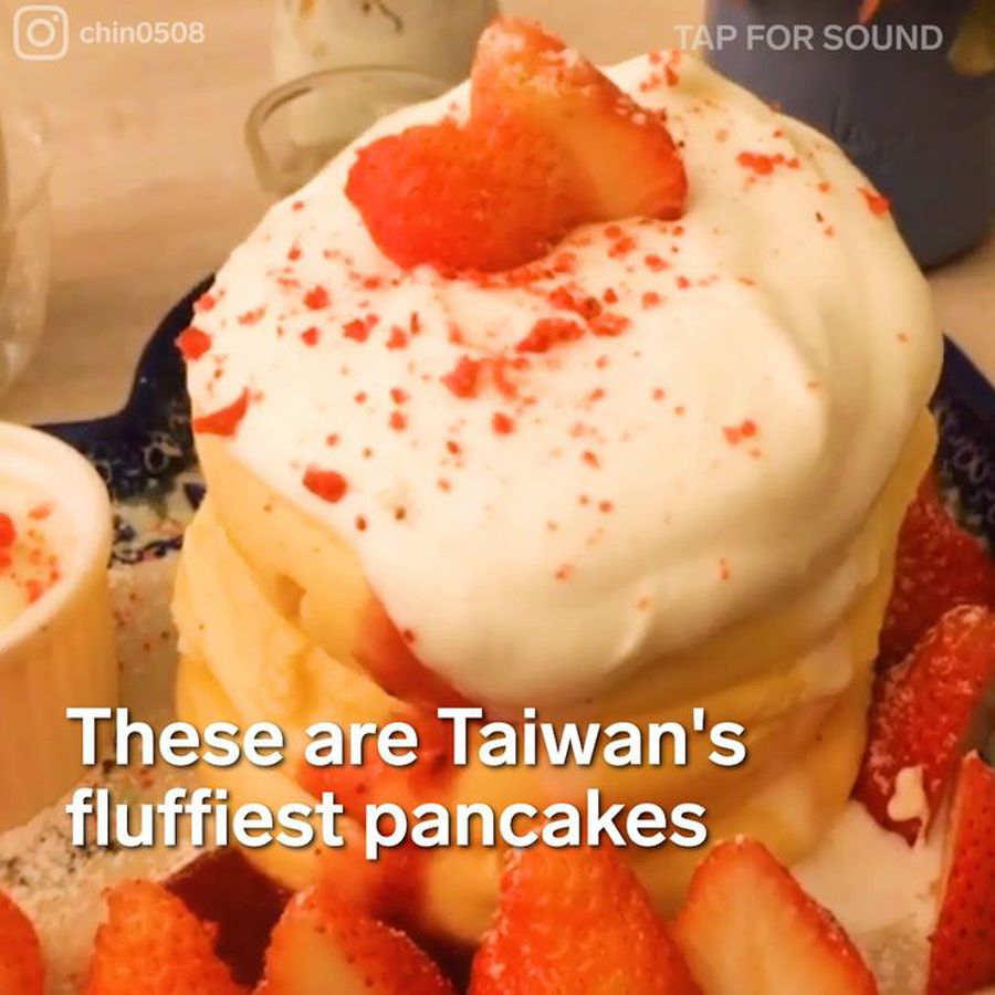 These are Taiwan's fluffiest pancakes