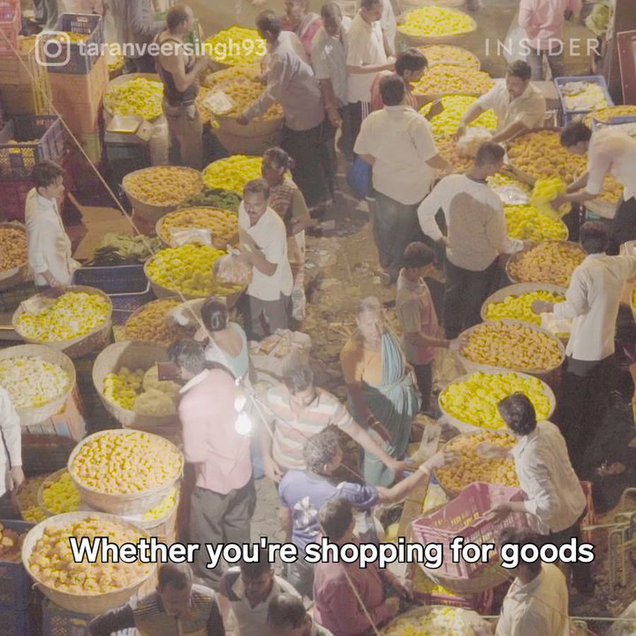 What street markets look like around the world