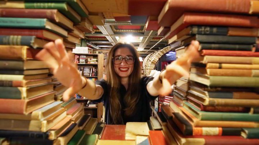 This bookstore has a very special collection of rare and expensive books