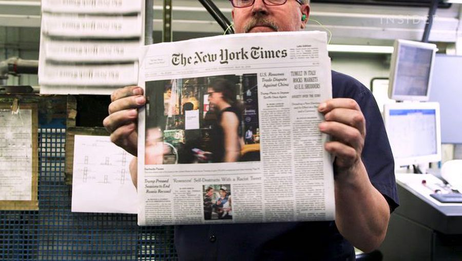 How The New York Times is made