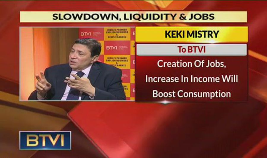 Budget Will Focus Primarily On Job Generation: Keki Mistry, HDFC