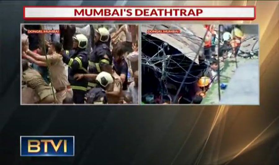 Mumbai Building Collapses: 4 Killed, Over 40 Feared Trapped