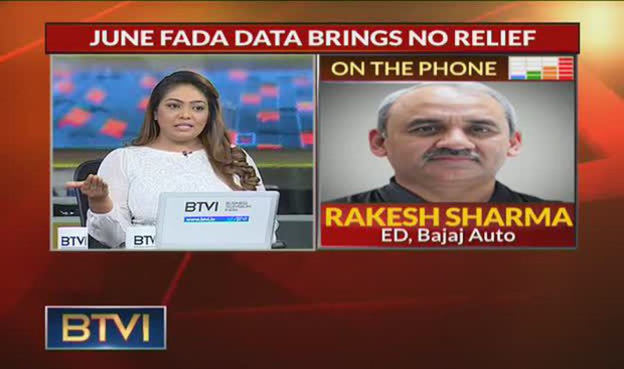 Q1FY20 worse than Q4FY19, trend remains same: Rakesh Sharma, Bajaj Auto