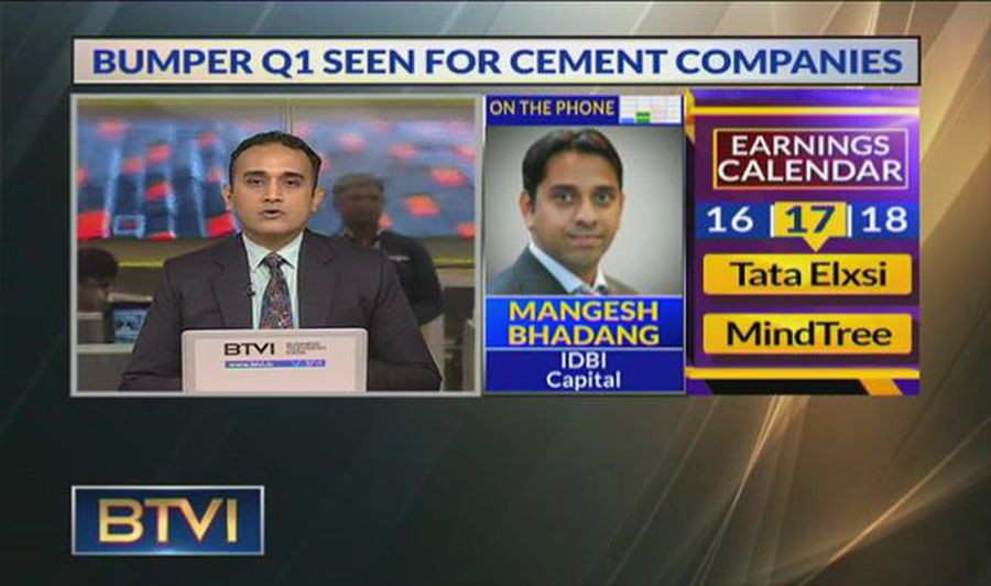 Cement sector outlook for Q2 with Mangesh Bhadang, IDBI Cap