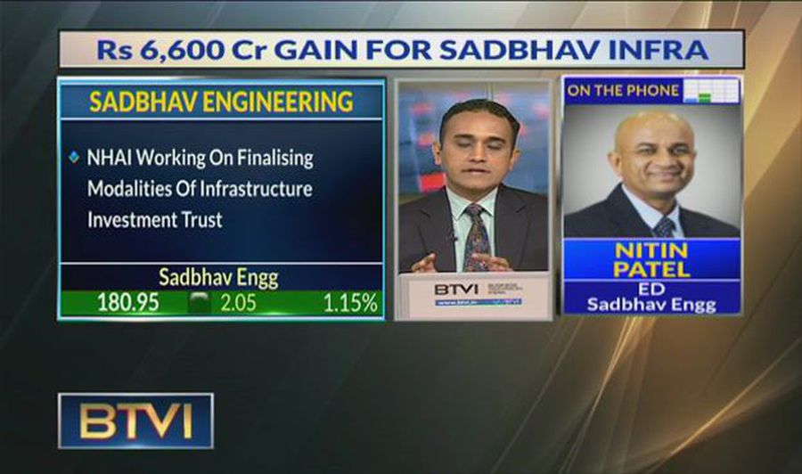 Expect more govt project awards in H2FY20: Nitin Patel, Sadbhav Engineering