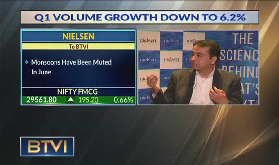 FMCG Growth Dampened By Declining Volumes, Says Nielsen Survey