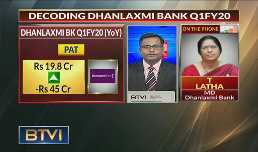 Decoding Dhanlaxmi Bank Q1 Earnings with T Latha