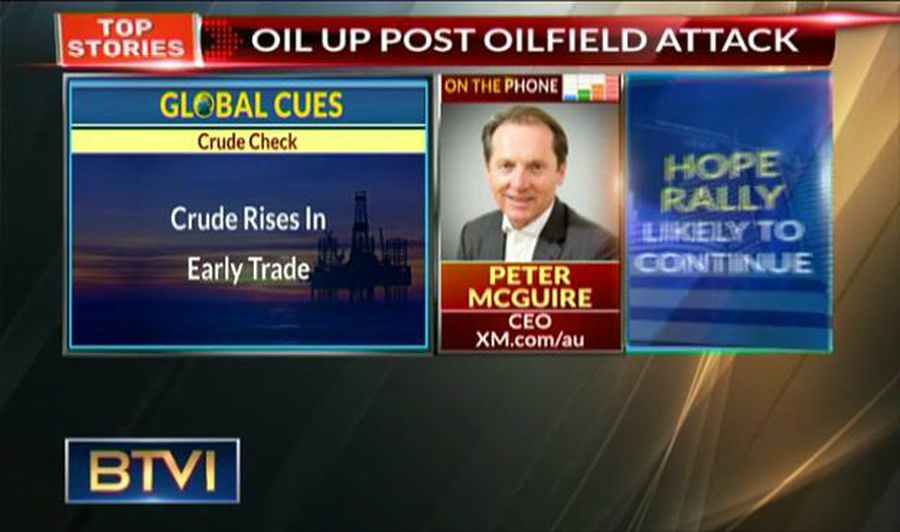 Expect Crude To Trade In Range Of $54-56/bbl: Peter McGuire